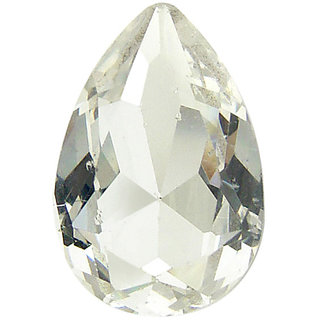 Be You Natural Nigerian White Topaz AA Quality 4x6 mm size Faceted Pears Shape 100 pcs Loose gemstones