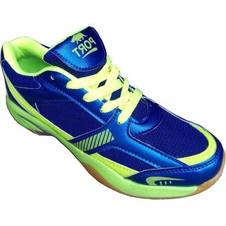 Port Copero Mens Multicolour Lace-up Tennis Shoes