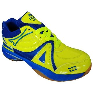 Port Active Mens Multicolour Lace-up Tennis Shoes