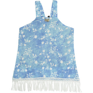 Carrel Rayon Fabric Girls Top