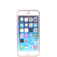Callmate Metal Bumper For IPhone 6 4.7 Inch  With Free Screen Guard - Pink