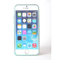 Callmate Metal Bumper For IPhone 6 4.7 Inch  With Free Screen Guard - Sky Blue