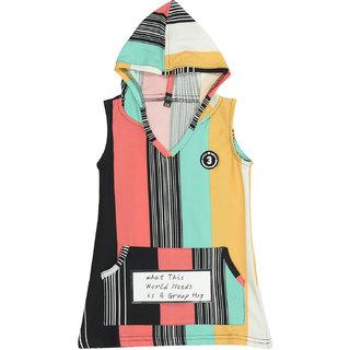 Carrel Lycra Fabric Girls Top