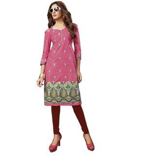 Beautiful Designer Printed Cotton kurta/kurti/Tunic - Size  L (Max Length 40 Max Width 40)