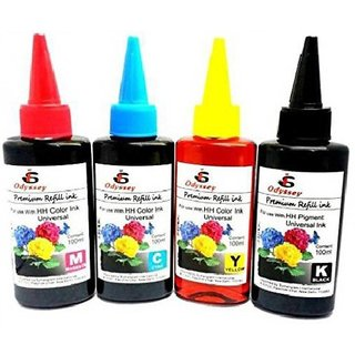 odyssey 803 black and tricolor cartridge ink suitable for refilling Multi Color Ink  Black, Magenta, Yellow, Cyan