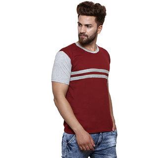 4b26a7d53df2 Buy Round Neck multicolor T-shirt For Men Online - Get 77% Off