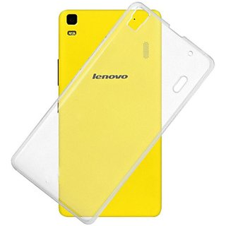 online store 4f8bc 40fad Buy SAVINGUP Transparent Back Cover for Lenovo K3 Note (transparent ...