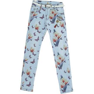 Carrel Denim Fabric Girls Jeans