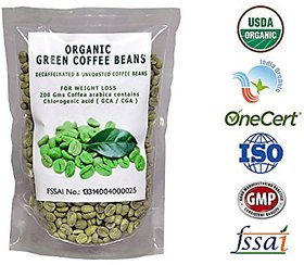 Perennial Lifesciences Organic Green Coffee Beans 200 gm