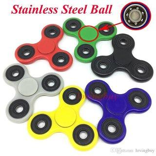 Hand Spinner Tri Fidget Tri-Spinner 3D EDC Ball Focus Toy For Kids