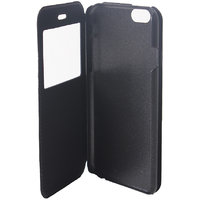 Callmate Window Leather Flip Cover For Iphone 6 4.7 Inch With Free Screen Guard - 5899568