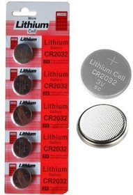 50 Pcs Micro Lithium Cell CR2032 3V Coin Cell Battery F