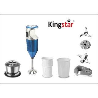 Kingstar Hand Blender Bmw plus blue