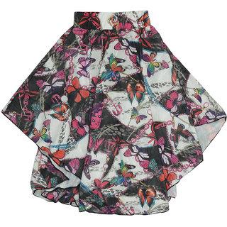 Carrel Lycra Fabric Girls' Skirt