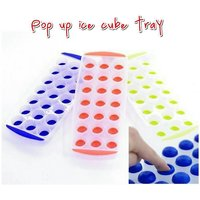 Frappel Pop Up Ice Cube Tray For Ice / Chocolate / Jelly Sphere Maker