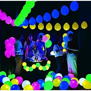 LED Balloons for Party Festival Diwali Christmas New Years Celebrations-25 pcs