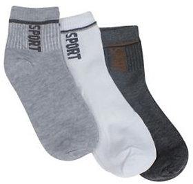 Mens Ankle Socks set of 3