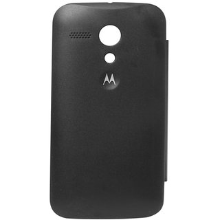 newest 2ceda 121c7 MOTOROLA MOTO G (1ST GENERATION) FLIP COVER (BLACK)