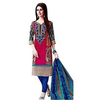 RosePetals Cotton Wear Suit (SAAR1511) (Unstitched)