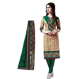 RosePetals Cotton Wear Suit (SAAR1512) (Unstitched)
