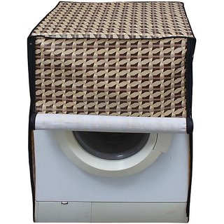 Dreamcare Printed Coloured Waterproof & Dustproof Washing Machine Cover For Front Load LG FH296HDL24  7 kg