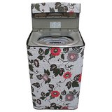 Dream CareFloral And Leafy Multi coloured Waterproof & Dustproof Washing Machine Cover For LLOYD LWMT60 Fully Automatic Top Load 6 kg washing machine