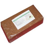Coco Peat Brick(Brown)-Expands upto 7.5 Kg of Coco Peat Powder(Pack of 650 Grams)By SapRetailer