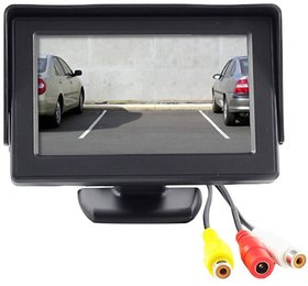 Universal 4.3 inch LCD TFT Monitor Display For Car Dashboard