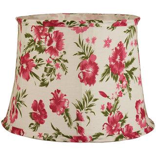 Casa decor fancy floral flower design lampshade cotton lamp shade casa decor fancy floral flower design lampshade cotton lamp shade white pack of 1 mozeypictures Image collections
