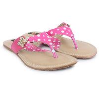 Shezone Women's Pink Flats