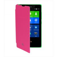 Blue Rock Flip Cover For Nokia Xl - Pink