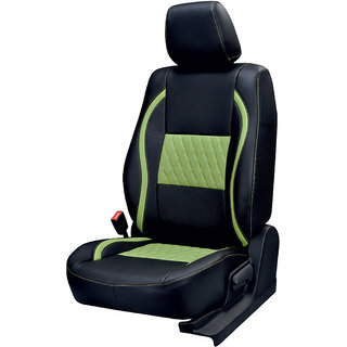 Musicar Renault Pulse Black  Leatherite Car Seat Cover with 1 Year Warranty And Steering cover  Free