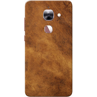 finest selection ba412 41434 LeEco Le 2 Case, LeTV Le 2 Case, Leather Texture Brown Slim Fit Hard Case  Cover/Back Cover
