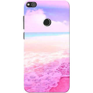 best authentic 26f89 13b28 Huawei Honor 8 Lite Case, Huawei P8 Lite Case, Oceanic Slim Fit Hard Case  Cover/Back Cover