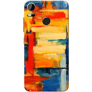 HTC Desire 10 Pro Case, Multi Color Painted Slim Fit Hard Case Cover/Back Cover
