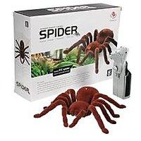 Big Remote Control Spider - Infrared With New Gen Halloween Remote