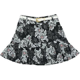 Carrel Cotton Fabric Girls Skirt