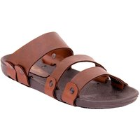 Stylos Men's S1 Tan Synthetic Sandals