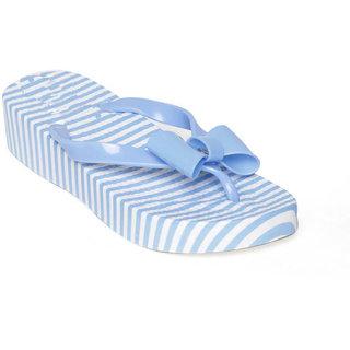 Vaniya shoes Blue Slippers