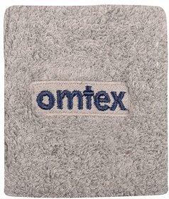 Omtex Wrist Sweat Band (3 inch) - Grey