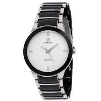 IIK Collection White Dial Metal Analog Watch For Men