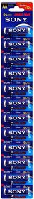 Sony AA Stamina Plus AM4-S12 (Pack of 12)  Alkaline Battery