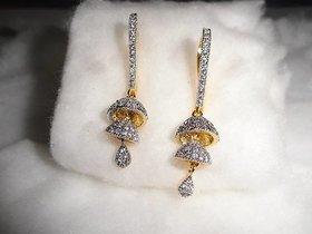 Arista Fancy American Diamond Earring