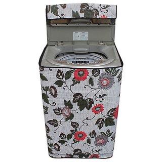 Dream Care floral and Multi washing machine cover for semi automatic machine for MIDEA MWMSA065M02 Fully Automatic Top Load 6.5 kg washing machine