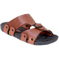 Stylos Men's S3 Tan Synthetic Sandals
