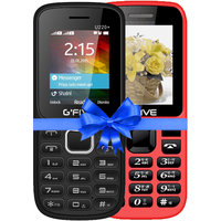 Combo Of Gfive U220 (Black) + Gfive N9 (Red) 1.8 Inch,