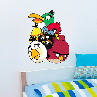 Decor Villa Wall Sticker (Mickey dancing,Wall Covering Area -58 x 45 CM)