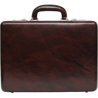 C Comfort 17 inch Pure Leather Briefcases Come Office Bag for men and women EL85