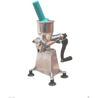 Manual Jagjeet Fruit Juicer Enjoy Fresh Juice At Your Home Aluminium Body