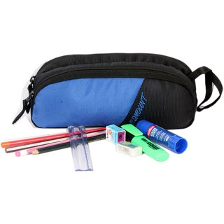 Wildmount multi utility Dual Compartment ( BLUE  BLACK ) Pouch